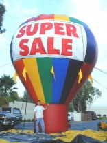 Inflatable Outdoor Helium Advertising Balloons | Chicago Ad Balloons