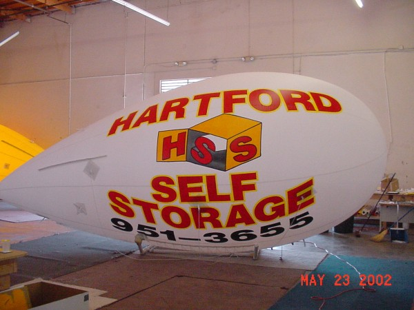 Storage Helium Blimp