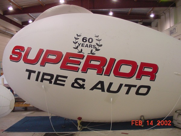 Auto Repair Blimp