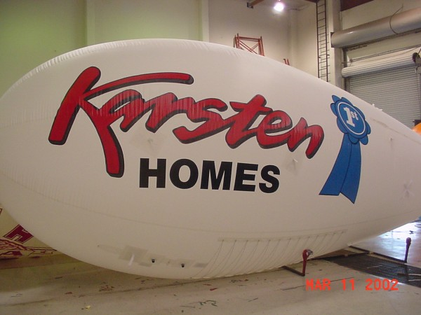Home Builder Blimp