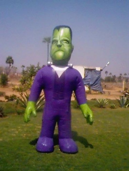 Frankenstein Costume Inflatable