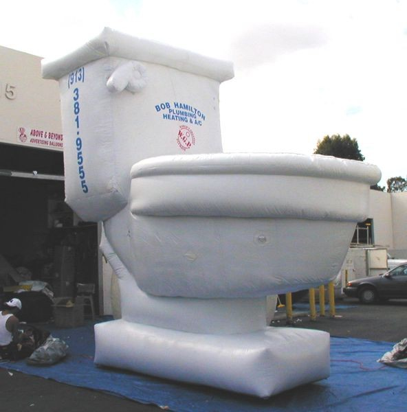 Giant Potty Inflatable