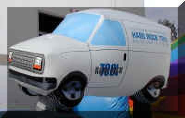 Inflatable Van