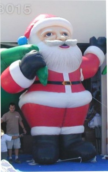 Holiday Santa Inflatable