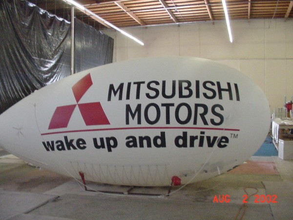 Auto Dealers Love Blimps!